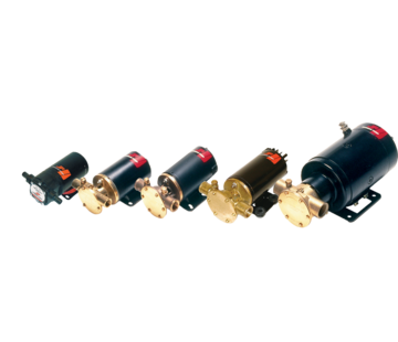 Johnson Johnson Pump zelfaanzuigende impellerpomp F4B-19  24V  48l/min  aansluiting 1 slang & 1/2 BSP