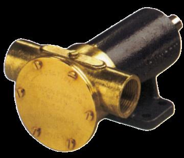 Johnson Johnson Pump impellerpomp F7B-3000  107l/min  voetmontage (met mechanical seal & RVS Deksel)