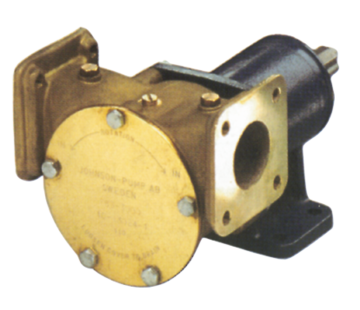 Johnson Johnson Pump impellerpomp F8B-3000VF  279l/min  voetmontage (met mechanical seal & RVS Deksel)
