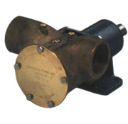 Johnson Johnson Pump impellerpomp F9B-3000  389l/min  voetmontage (met mechanical seal & RVS Deksel)