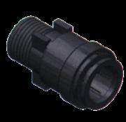 SeaTech SeaTech Quick-connect verbindingsstuk  Diameter 15mm x 1/2 NPT  buitendraad