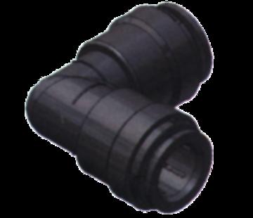 SeaTech SeaTech Quick-connect knie-stuk  Diameter 15mm x Diameter 15mm