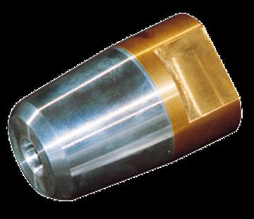 Allpa Dopmoer met zinkanode & RVS borgring voor schroefas Diameter 25mm