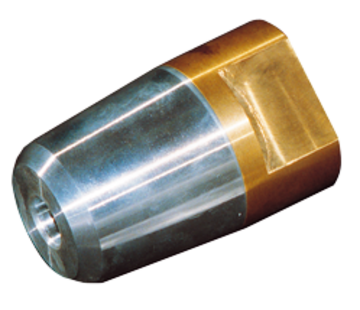 Allpa Dopmoer met zinkanode & RVS borgring voor schroefas Diameter 50mm