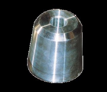 Allpa Zinkanode voor dopmoer voor schroefas Diameter 25mm