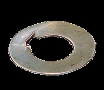 Allpa RVS borgring voor dopmoer voor schroefas Diameter 25mm