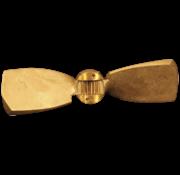 Radice Radice 2-blads bronzen klapschroef voor saildrive  16x13  links (Volvo/Yanmar/Technodrive & Nanni)