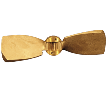 Radice Radice 2-blads bronzen klapschroef voor saildrive  17x13  links (Volvo/Yanmar/Technodrive & Nanni)