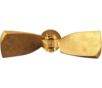 Radice Radice 2-blads bronzen klapschroef voor saildrive  13x09  rechts (Selva)