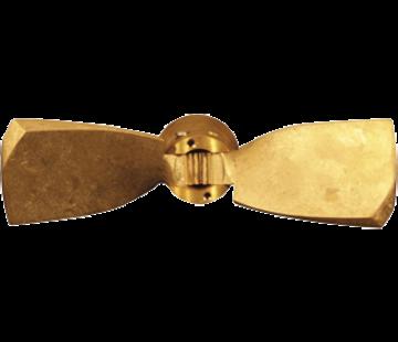 Radice Radice 2-blads bronzen klapschroef voor saildrive  15x10  rechts (Selva)