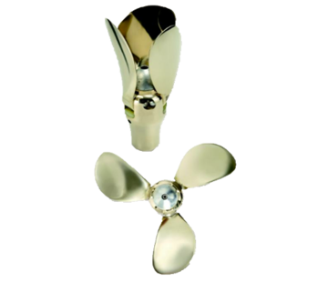 Flex-O-Fold Flex-O-Fold 3-blads-kit voor bronzen klapschroef  saildrive of schroefas  24x15  rechts