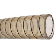 Allpa PVC Koudwaterslang  transparant met stalen spiraal  Diameter 38x46mm  -15Graden C tot +65Graden C  max. 4bar  20Graden C