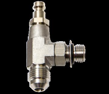 Seastar SeaStar Hynautic bleeder tee for use with 5/16 or 3/8 hose  (2 per kit)