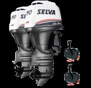 Selva 2x Killer Whale 150EFI-16V  E.ST.XL.PT.  2x 150pk