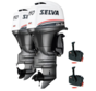 Selva Buitenboordmotoren 2x Killer Whale 150EFI-16V  E.ST.XL.PT.  2x 150pk