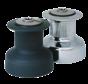 Antal Brons-verchroomde winch W30 (1+1-speed)