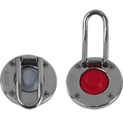 Antal Antal Stainless Steel Switch with Red rubber top