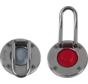 Antal Stainless Steel Switch with Red rubber top