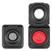 Antal Aluminum Switch with Grey rubber top