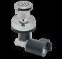 Antal Selftailing brons-verchroomde elektrische winch XT44ELH (2-speed) 12V