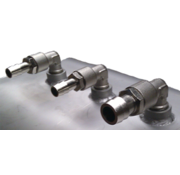 Allpa Brandstoftank RVS 21l  300x350x200mm met flensplaat