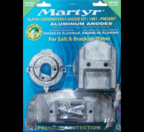 Allpa  Aluminium Anode kit Alpha-1-Gen II >1991