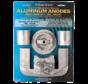 Aluminium Anode kit Bravo-1 >1988