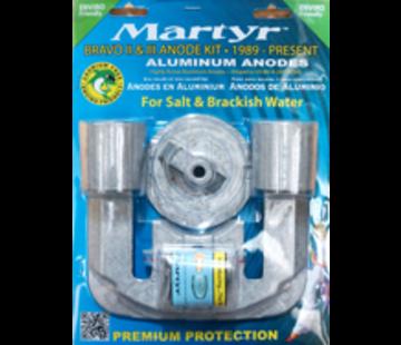 Allpa Aluminium Anode kit Bravo-2 & 3 1989