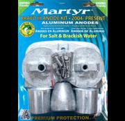 Allpa Aluminium Anode kit Bravo 3 2004