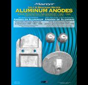 Allpa Aluminium Anode kit Alpha-1  Gen-I 1983-1990