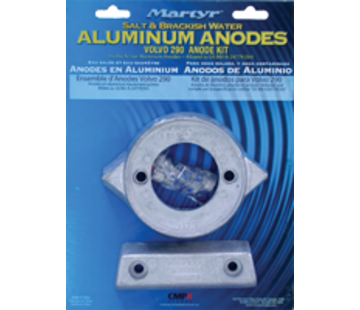 Allpa Aluminium Anode kit Volvo 290