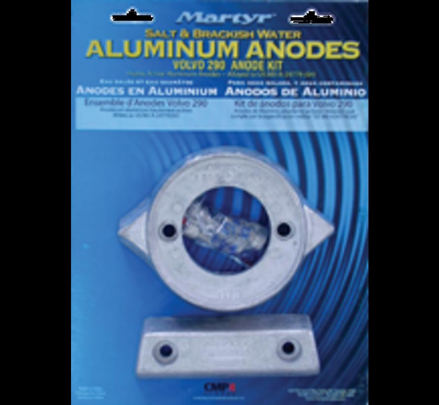 Aluminium Anode kit Volvo 290