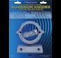 Aluminium Anode kit Volvo 290 dual prop