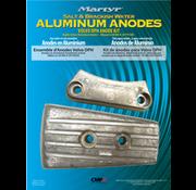 Allpa Aluminium Anode kit Volvo DPH