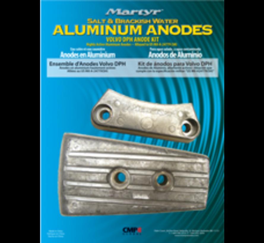 Aluminium Anode kit Volvo DPH