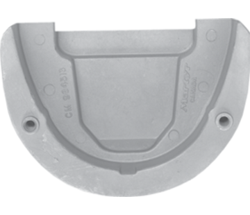 Allpa Magnesium Anode OMC / sterndrive  Transom Plate (OEM 984513)