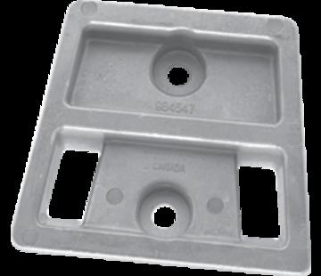 Allpa Aluminium Anode OMC / sterndrive  Block (OEM 984547)
