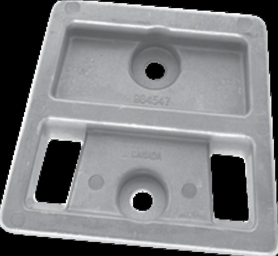 Aluminium Anode OMC / sterndrive  Block (OEM 984547)