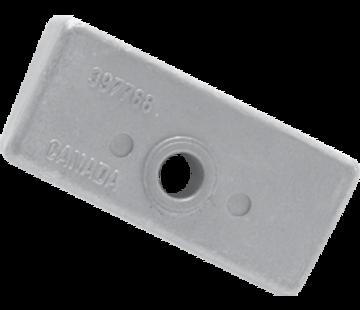 Allpa Magnesium Anode OMC / Johnson / Evinrude  Block (OEM 398331)