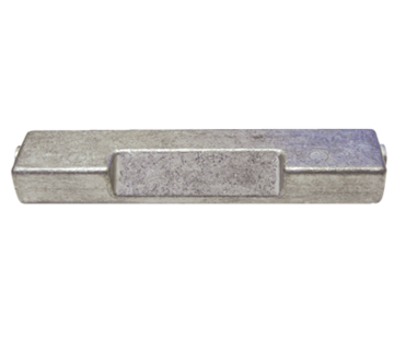 Allpa Aluminium Anode OMC / Johnson / Evinrude  Replaces 433580Z (OEM 5007089)