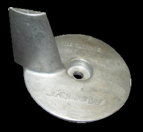 Allpa  Aluminium Anode Mercury / Mariner / Force / Honda outboard  Skeg (OEM 41107ZV500)