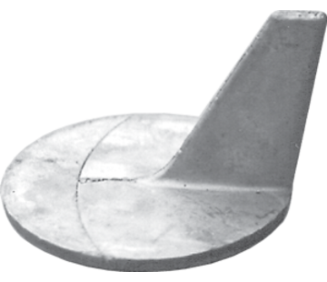 Allpa Magnesium Anode Mercruiser / Sterndrive  Cutdown Skeg (OEM 46399)