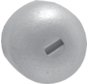 Aluminium Anode Mercruiser / Sterndrive  Alpha One en Bravo 1/2/3  Button (OEM 55989)