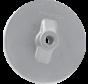 Aluminium Anode Mercruiser / Sterndrive / Mercury outboard  Circular Plate (OEM 76214-5)
