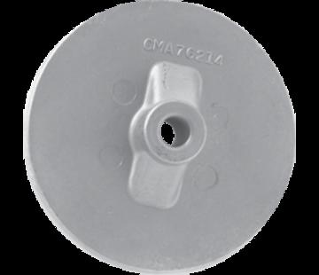 Allpa Magnesium Anode Mercruiser / Sterndrive / Mercury outboard  Circular Plate (OEM 76214-5)