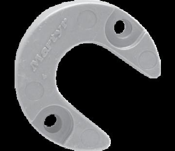 Allpa Aluminium Anode Mercruiser / Sterndrive Alpha One (Gen II)  Lift-Ram Horseshoe (OEM 806189)