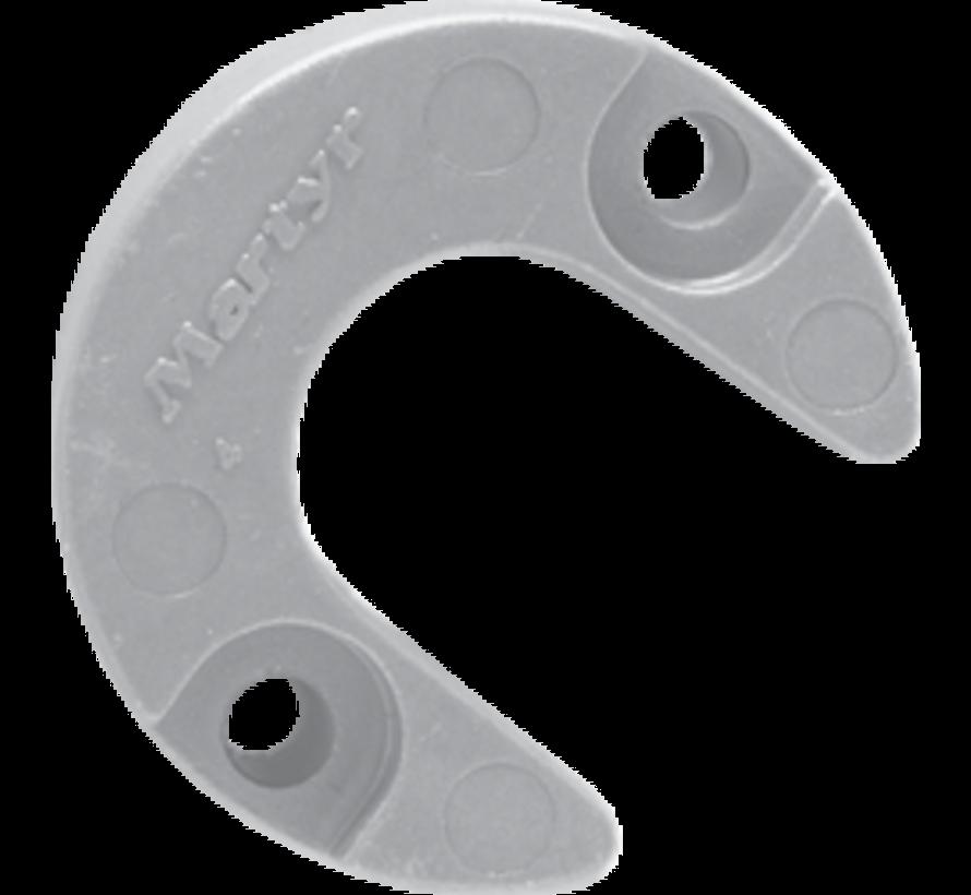 Aluminium Anode Mercruiser / Sterndrive Alpha One (Gen II)  Lift-Ram Horseshoe (OEM 806189)