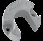 Aluminium Anode Mercruiser / Sterndrive Bravo 1/2/3 (Gen II)  Lift-Ram Horseshoe (OEM 806190)