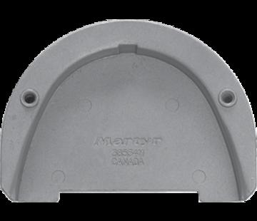 Allpa Magnesium Anode Suzuki outboard  cutdown skeg (OEM 55125-9630)