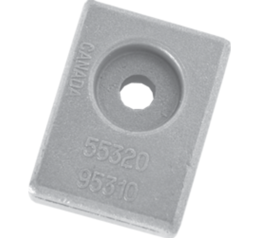 Aluminium Anode Suzuki outboard  small block (OEM 55320-95310)